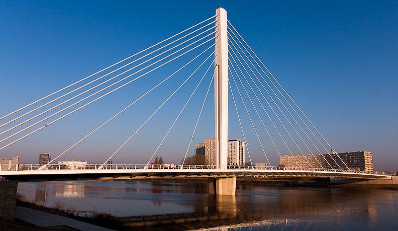 Pont Eric Tabarly à Nantes