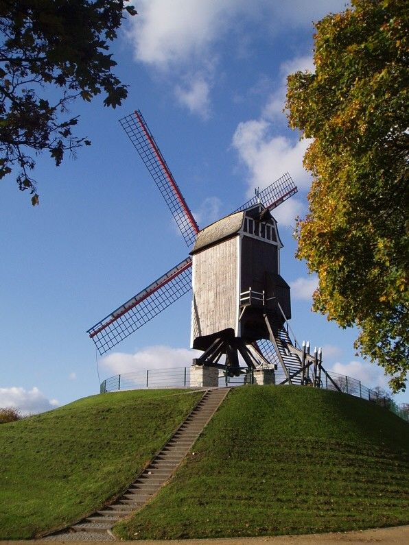 City windmill, Bruges