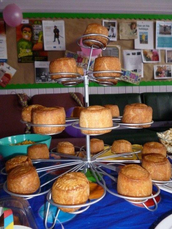 Cupcake pork pies