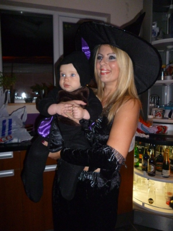 Baby Bat with witch aunt