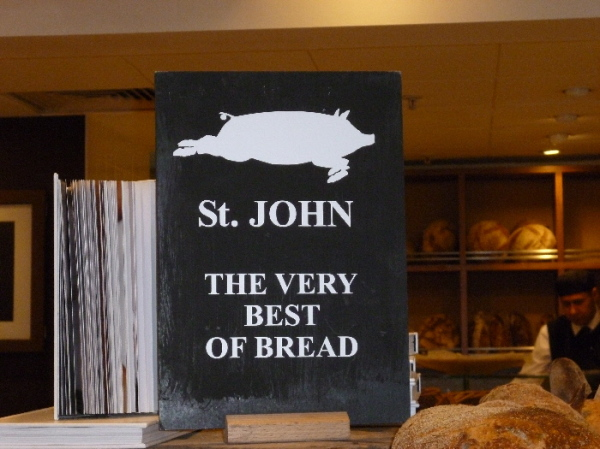 St John bread is the best - only at Selfridges