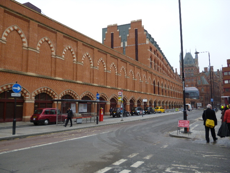 New St Pancras and Old behind it