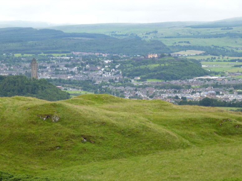 Wallace Monument and Stirling Castle