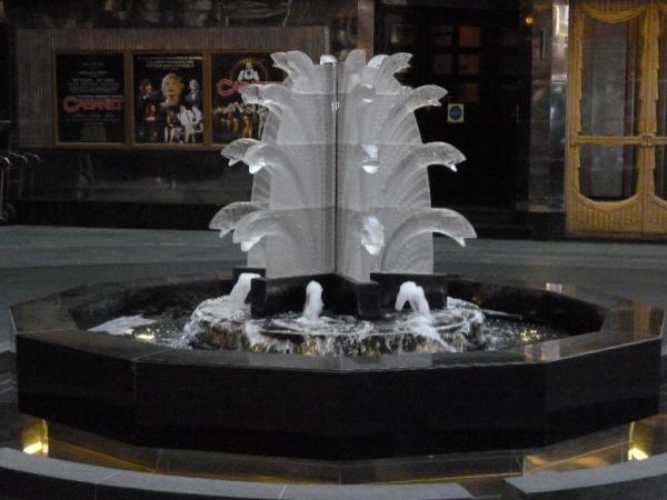 Savoy fountain