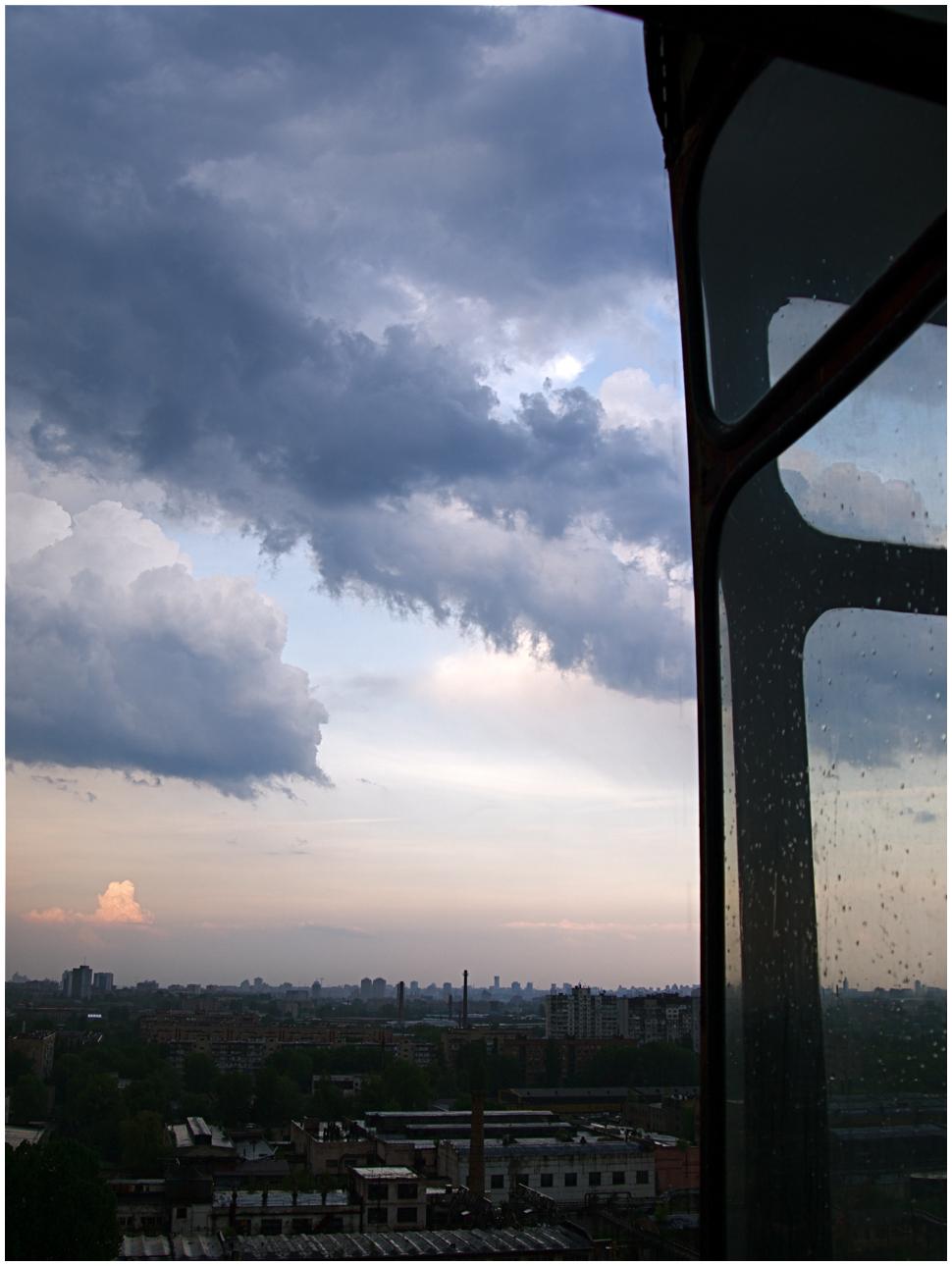 Storm in Kyiv
