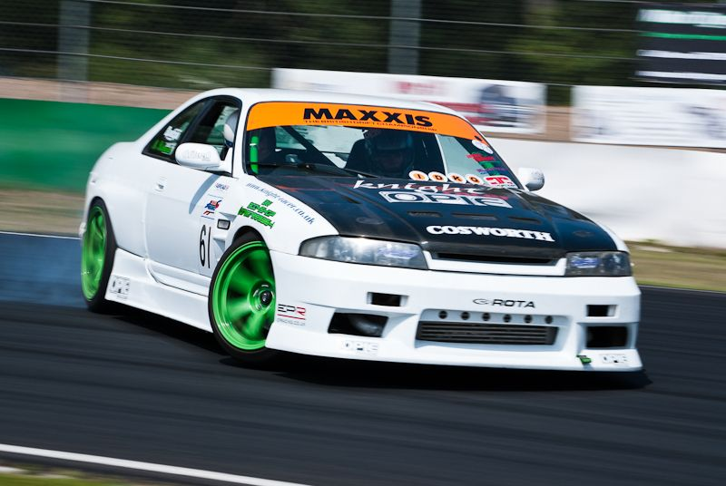 Drift car, Awesomefest 2011 at Mallory Park