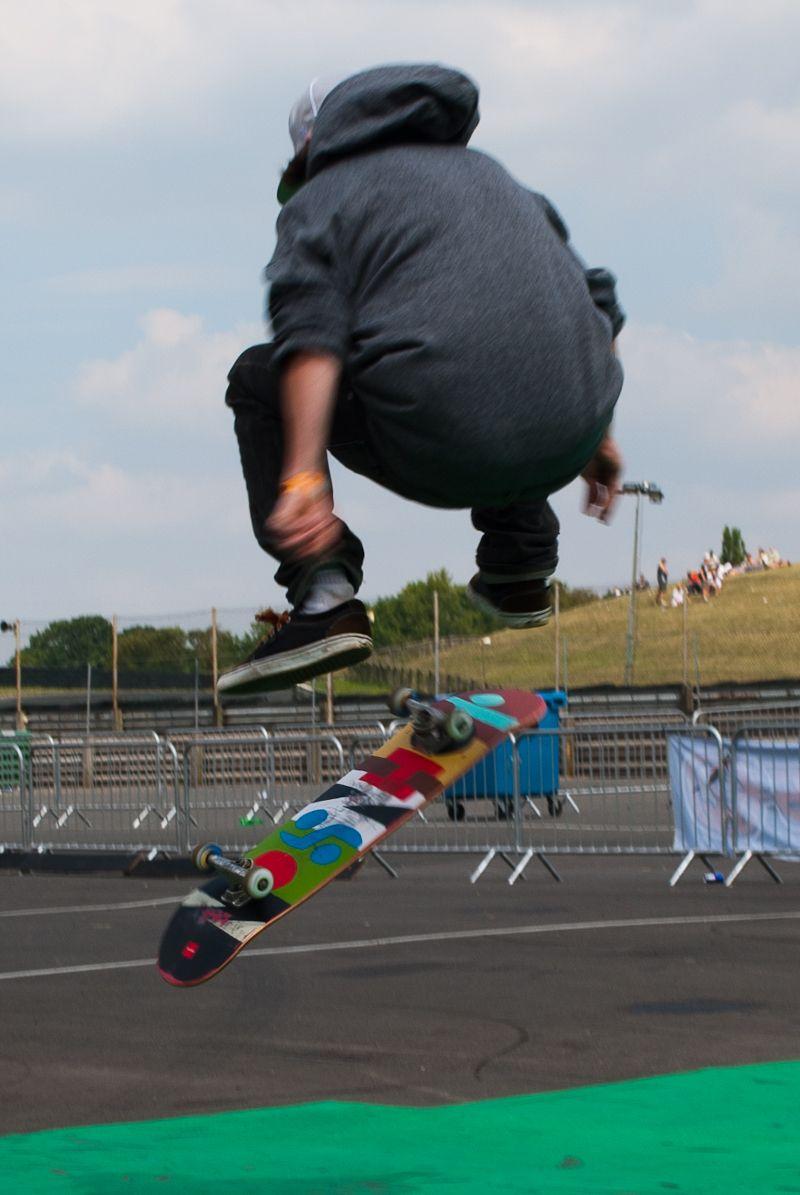 Skateboader, Awesomefest 2011 at Mallory Park
