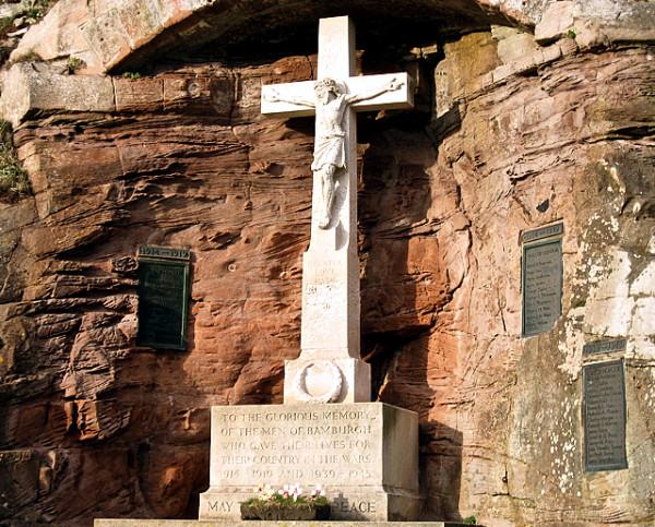 Bamburgh Castle  Religion   War Memorial