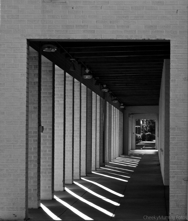 Church entrance, outside hallway