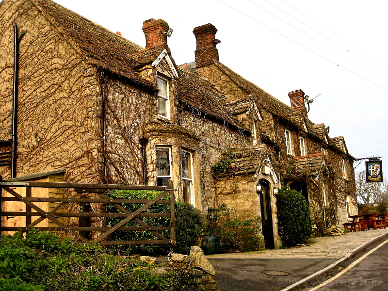 Bankes Arms in Studland England