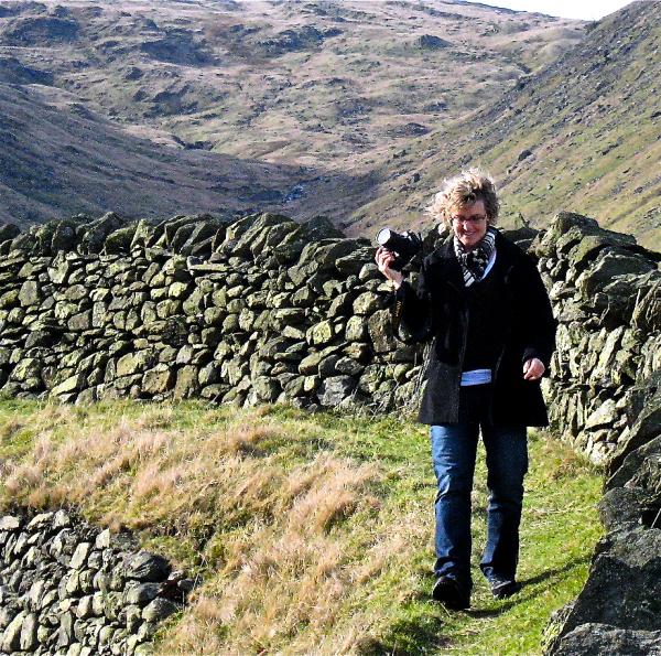 Photographer along Kirkstone Pass