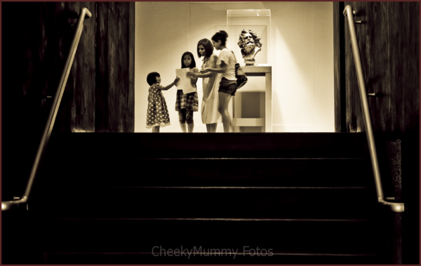 Family in Phoenix Art Museum