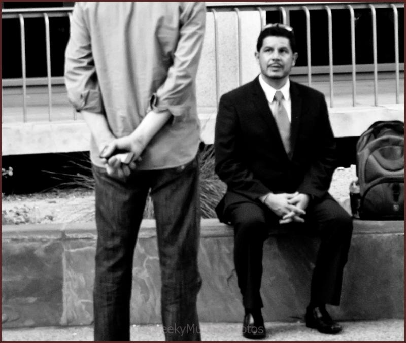 Jobless executive at Occupy Wall Street/Prescott