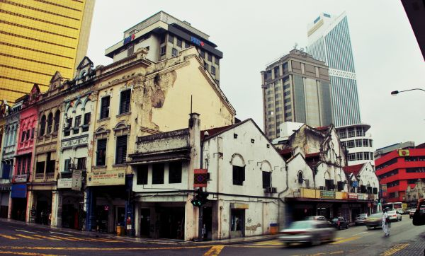 Old Building in city