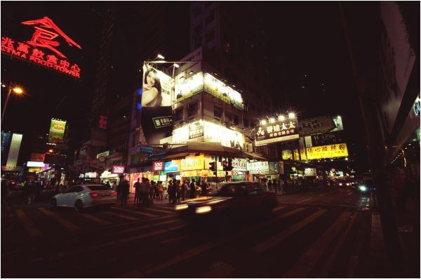 Mong Kok street