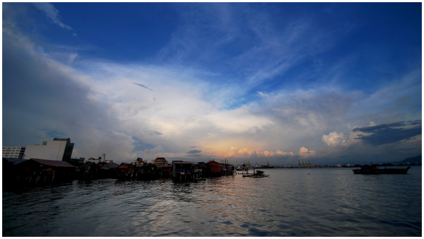 sunset in Pinang