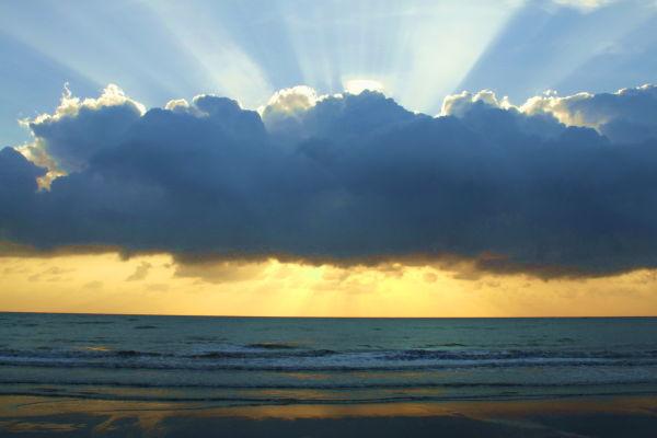 Morning sunrises.