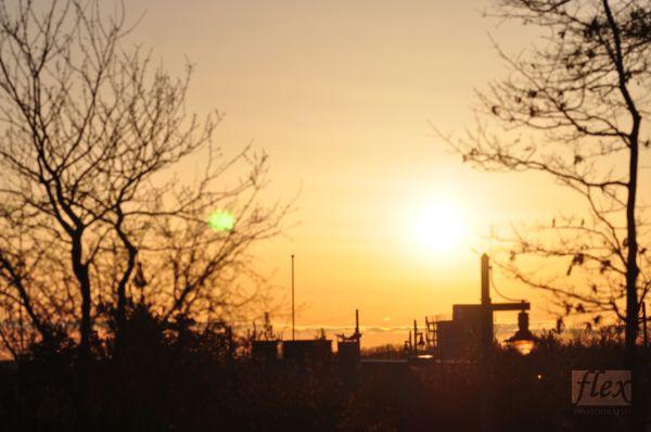 Sunset at Richmond Green