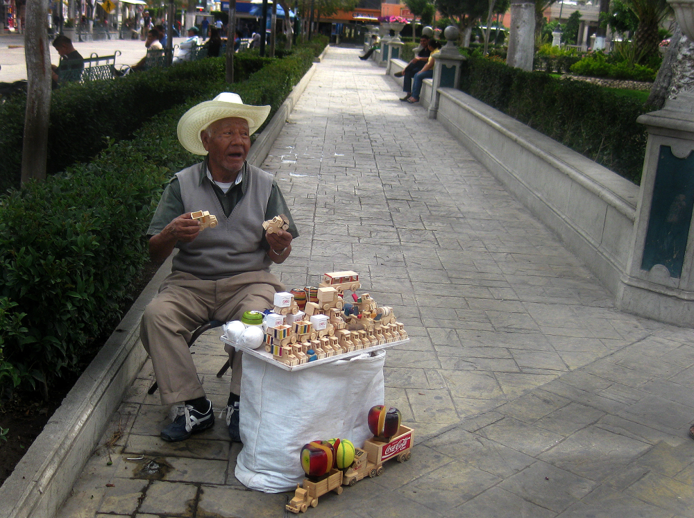 Vendedor Callejero de Artesanías - jlg