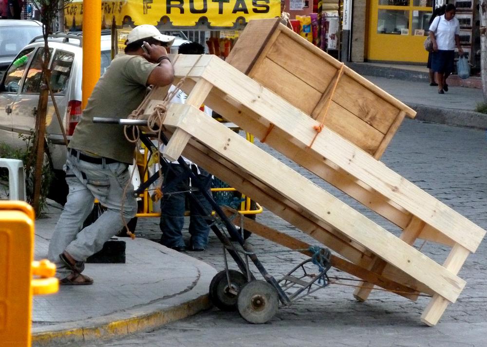 Vendedor de camas de madera - jlg