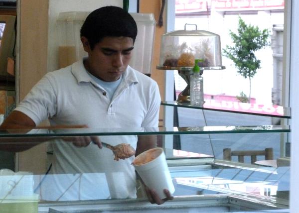 Vendedor de helado - jlg