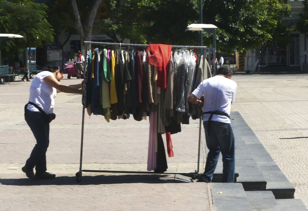 Caminado la ropa