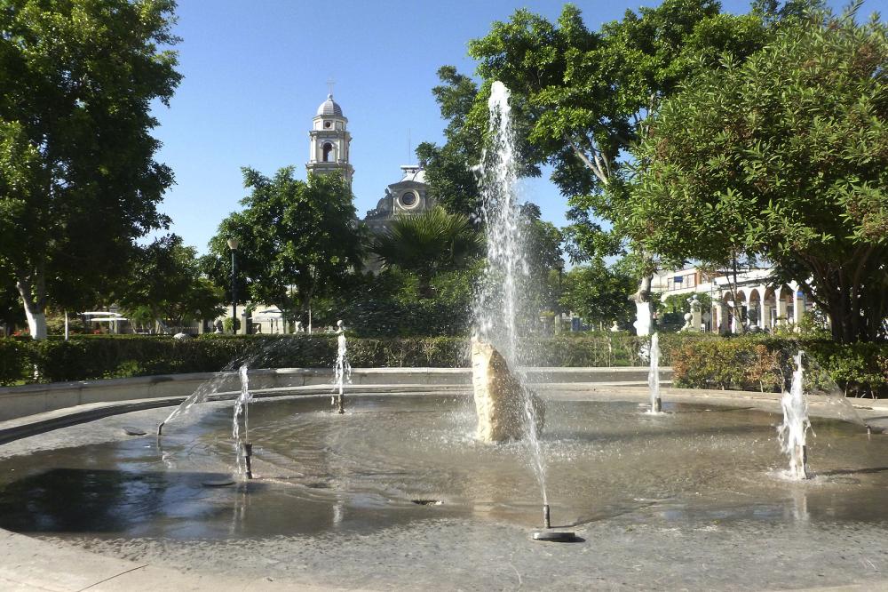 Fuente del Parque Juárez - jl