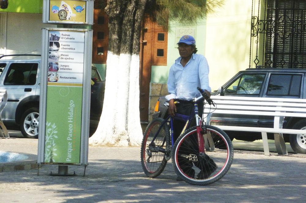 enero, invierno, bicicleta, espera, 2014