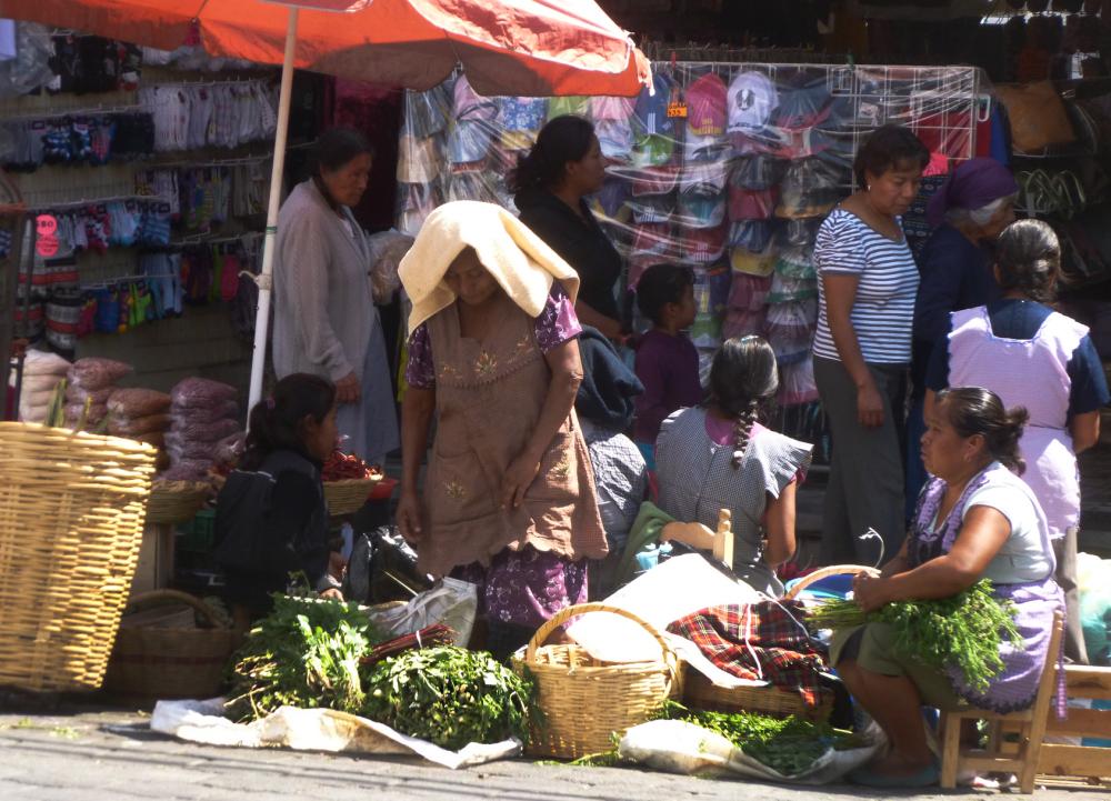 Afuera del mercado - jlg