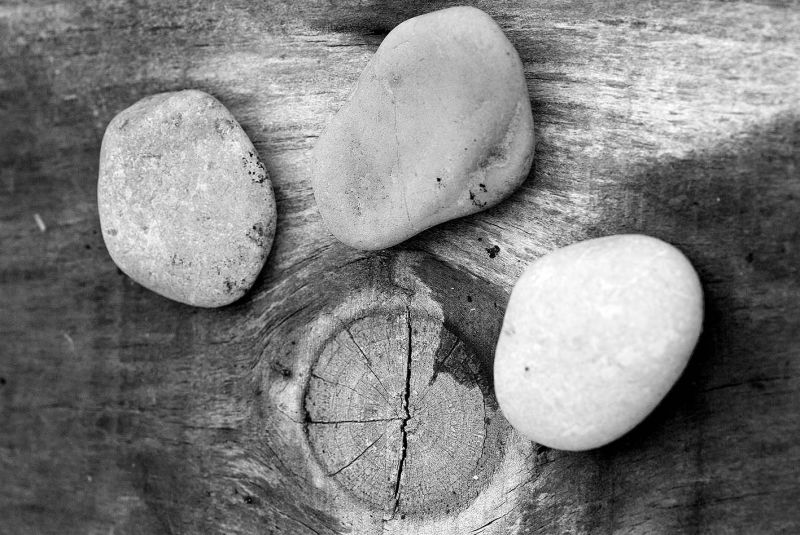 Three Pebbles...