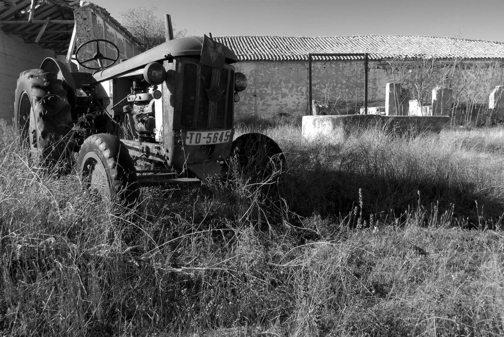 Tired tractor....