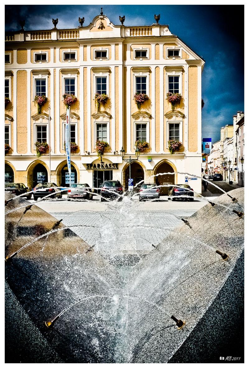 Stadtplatz von Enns Oberösterreich