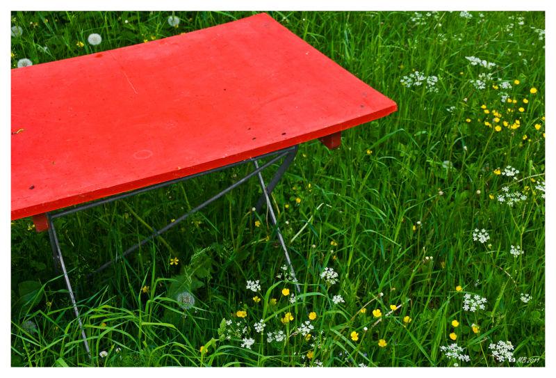 der rote Tisch