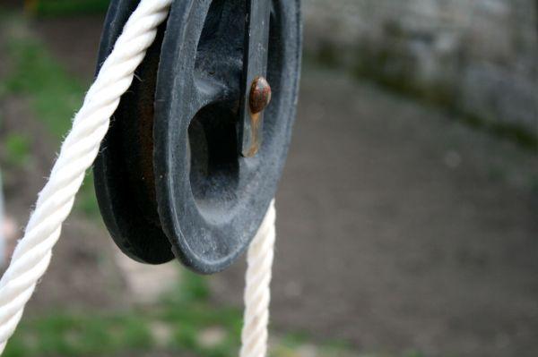 corde, roue
