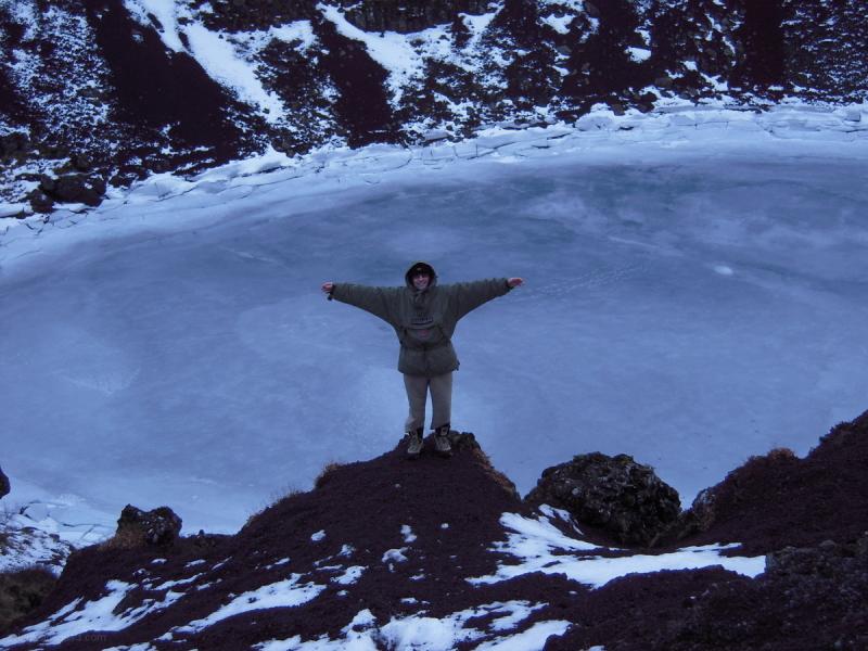 Icelandic crater