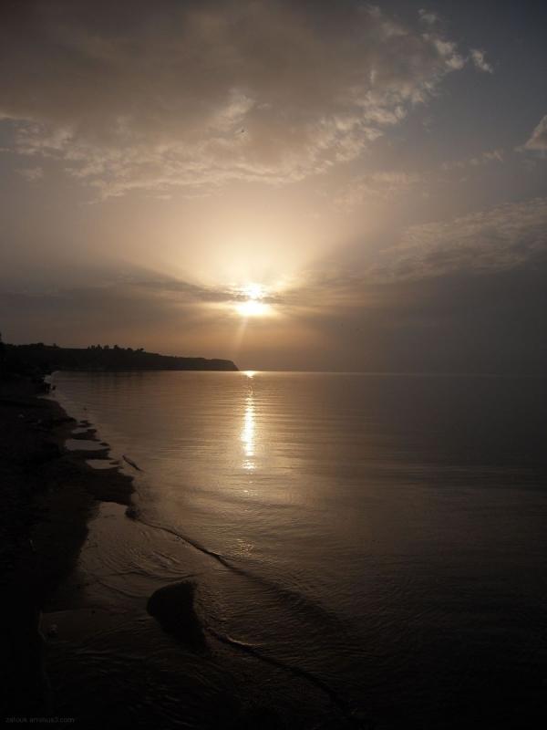 Sunset in Agia Triada