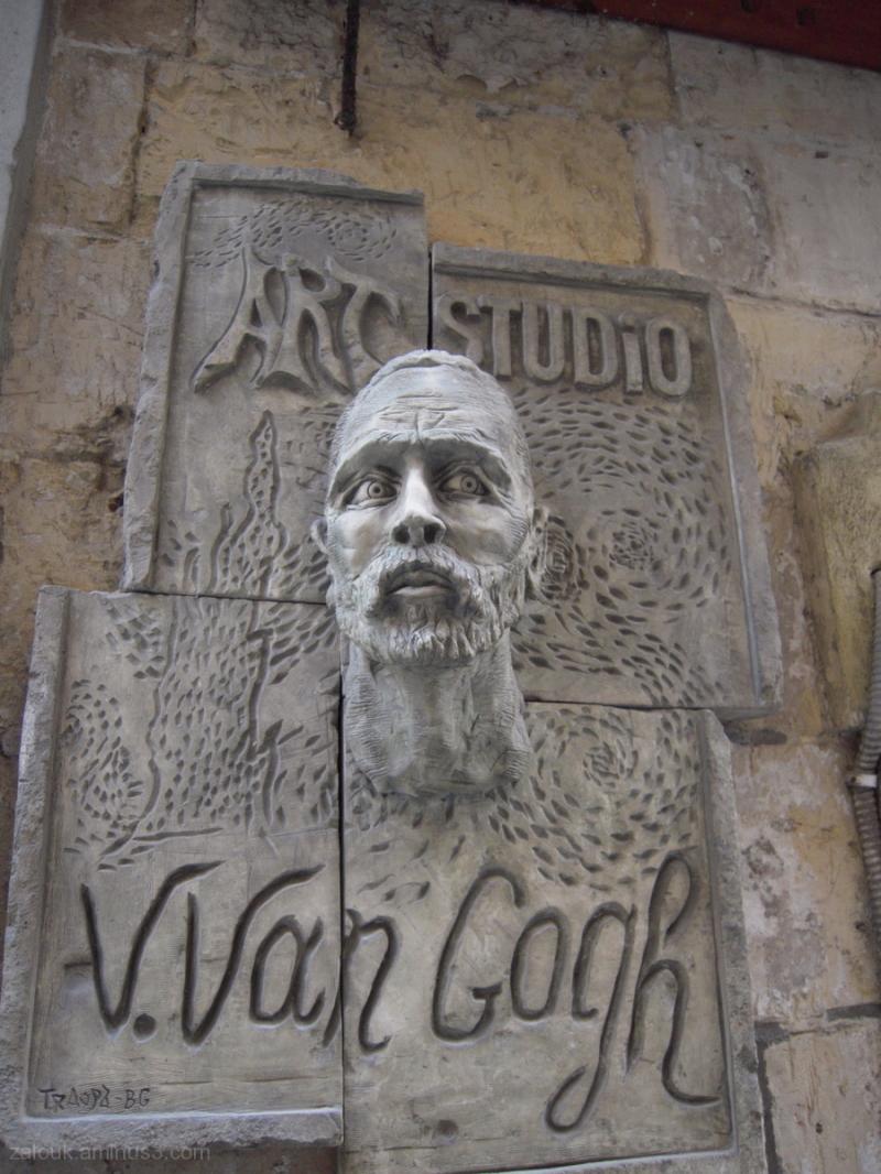 Van Gogh's sculpture in Valetta