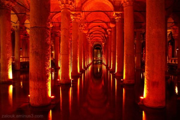 Palace Cistern (Yerebatan Saray) in Istanbul