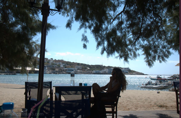In the island of Sikinos