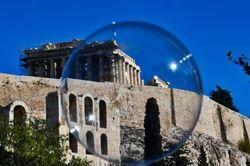 Acropolis in a bubble