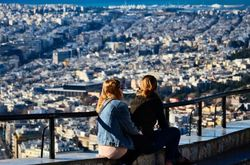 Athens from Lycabettus hill