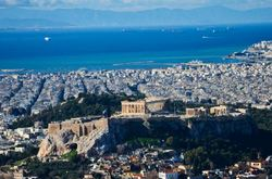 Acropolis from above I