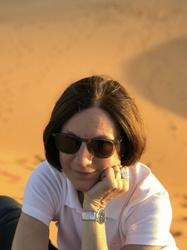 Portrait in the desert