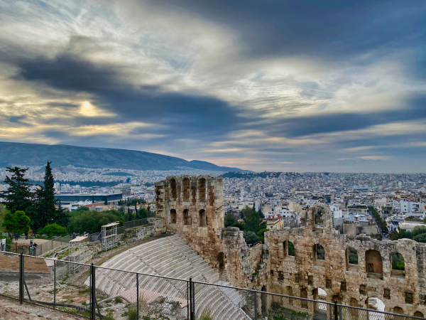 Overviewing Athens