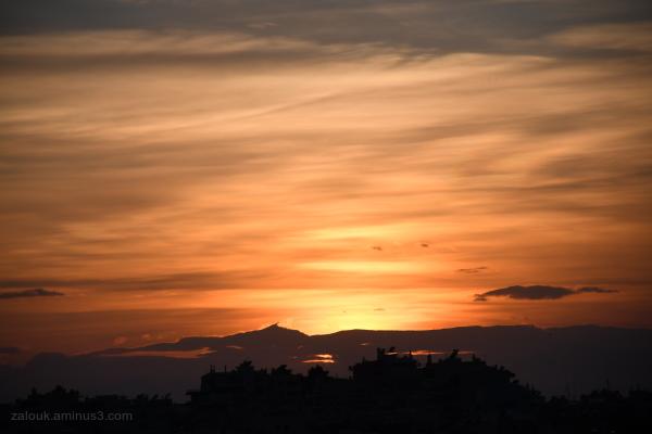 December sunsets