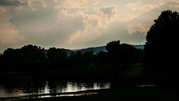 Colyer Lake at Dusk