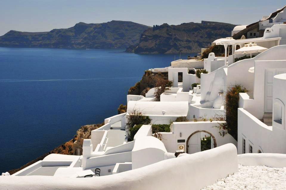 Waterfront Hotels in Santorini