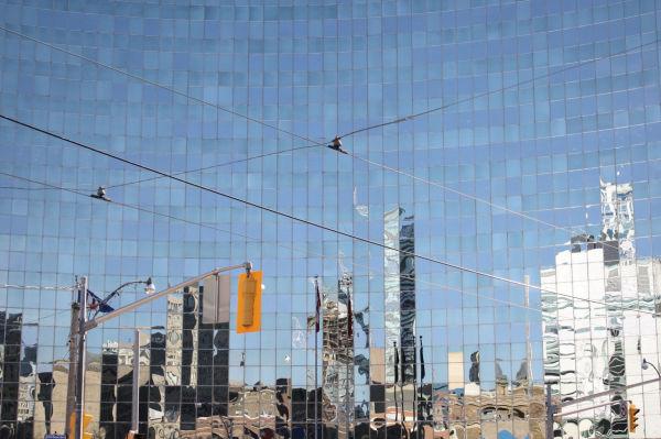 city reflects