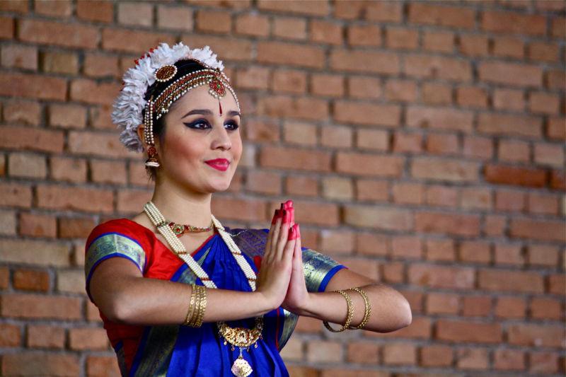 Bharatanatyam's dancer