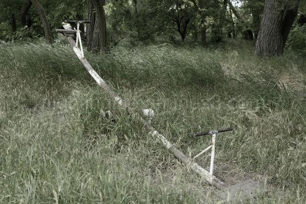 An old Soviet teeter totter